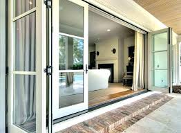 triple pane sliding glass door patio doors
