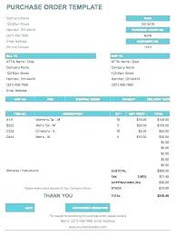 Purchase Order Email Template