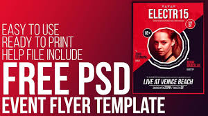 psd event flyer template ready to print psd event flyer template ready to print