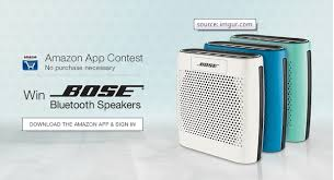 bose bluetooth speakers amazon. amazon app contest: download the \u0026 sign in and get a chance to win bose soundlink color bluetooth speaker from speakers p