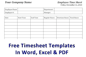 Free Monthly Timesheet Template Excel Timesheet Template Uk