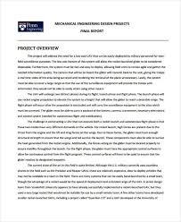 54 Project Report Samples Word Pdf Docs Free