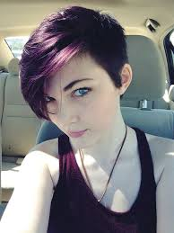 hair color ideas 2015 short hair. purple hair colour ideas for the coming season - asymmetrical short haircuts color 2015