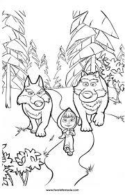 Masha E Orso Da Colorare Anime Cartoni Animati