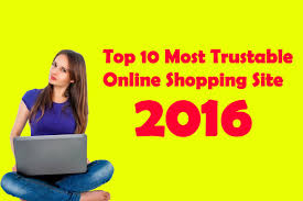 top most trusted online shopping site  top 10 most trusted online shopping site 2016