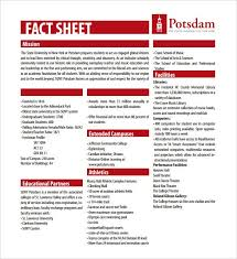 Fact Sheet Template Microsoft Word Fact Sheet Template 15 Free Word Ppt Pdf Documents