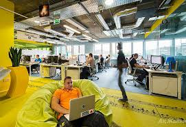 the google office. The Google Office T