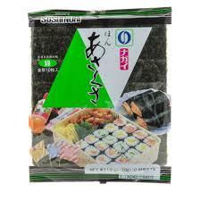 nori sheet japan centre nagai green grade roasted nori seaweed japanese