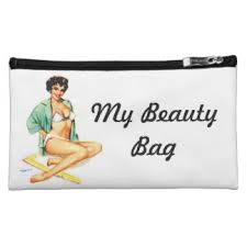 pin up cosmetic bag