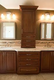 bathroom counter cabinet sophisticated master bathroom remodel colonial gold granite on cabinet bathroom countertop linen cabinet