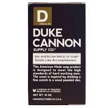 amazon com duke cannon men s soap brick 10oz big american amazon com duke cannon men s soap brick 10oz big american brick of soap smells like accomplishment bath soaps beauty