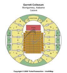 Garrett Coliseum Tickets And Garrett Coliseum Seating Chart