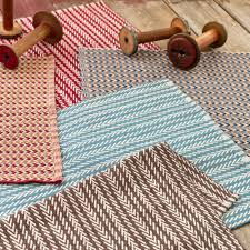 dash and albert rugs woven shaker brick slate cotton contemporary rug rda193