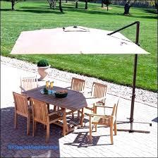 offset patio umbrellas with solar lights best patio umbrella with solar lights patio rectangular 11 ft