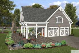 Garage w ApartmentsPlan       Bedrm   Car Garage         middot  This is a front elevation of these Garage Houseplans