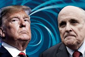 Image result for images of Giuliani and Trump