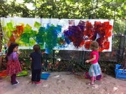 outdoor activities for preschoolers. Fun, Messy, Creative And Super-sized Activities Can Take Place Outdoors. As An Outdoor Preschool Teacher For 12 Years, I Made Opportunities Art Every Preschoolers