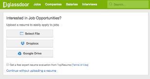 Top Job Websites In Resume Cv Upload For Great Career Post Resume