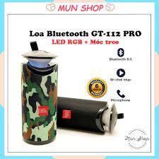 Loa Bluetooth Mini GT112 ( Có Đèn, Âm Thanh Cực Hay) - Loa Bluetooth Nhãn  hiệu No Brand