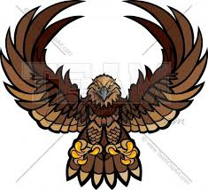 hawk wing clipart. Wonderful Clipart Hawk Wings And Claws Mascot Vector Clipart Image For Wing N