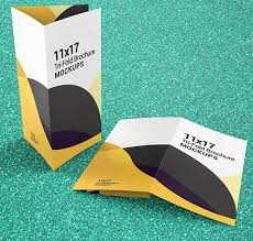 11x17 Trifold Template Trifold Brochure Mockups 11x17 Size Vectogravic Design