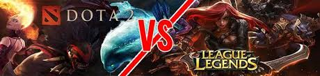 learning by comparison lol vs dota2 multiplayer online battle