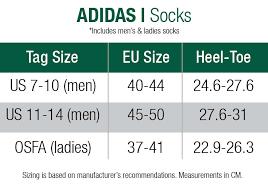 Adidas Socks Size Chart Adidas 3 Pack Crew Socks White