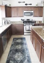 kitchen rugs. Simple Kitchen Runner Rug From RugKnotscom Between Cabinets And An Island In The Kitchen In Kitchen Rugs