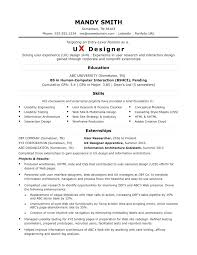 Ux Design Resume Designer Style By In Layout Senior User Experience