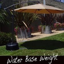 offset patio umbrella stand weight