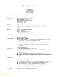Free Internship Resume Template Free Download Free Resume Templates