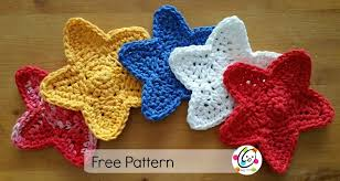 Crochet Star Pattern Interesting Free Pattern Stars Swag Snappy Tots