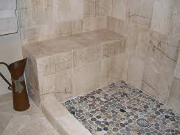home and furniture luxurious pebble stone shower floor of stones for a inspiration bathroom remodel