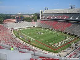 Sanford Stadium View From Upper Level 325 Vivid Seats