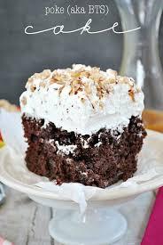 Poke Cake Bts Cake Recipe