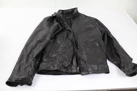 image 1 of 4 alfani men s leather jacket