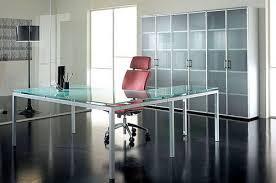 glass desk for office. glass desk and cupboard office furniture gallery pinterest desks for