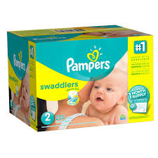 pampers swaddlers size 2 132 count amazon com pampers swaddlers disposable diapers size 2 204 count