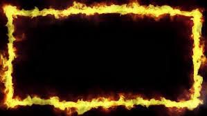 fire frame with an alpha stock fooe