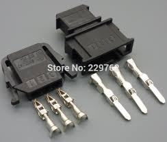 online get cheap 3 pin wire connector vw aliexpress com alibaba Vw Automotive Wire Harness Connectors 4 10 50 100set 3 pin car sensor plug auto wire harness connector 3 way electrical socket 191 972 703 191 972 713 for vw car ect Vehicle Wiring Connectors