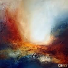 abstract art painting paul bennett after night