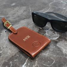 our personalisation service embossed leather gifts