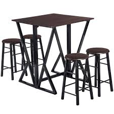 Amazoncom Dinning Set For 4 Julyfox 36 Inch Counter Height