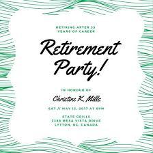 Retirement Invitations Free 28 Incredible Free Retirement Party Invitation Templates
