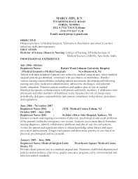Example Of A Nursing Resume Interesting How To Write A Nursing Resume Travel Nurse Sample 48 Experienced Med