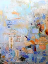 city rhythms original oil painting by asheville artist fleta monaghan