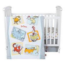 trend lab dr seuss alphabet 3 piece crib bedding