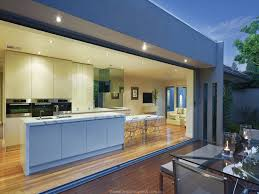 this is an example of a contemporary wow factor kitchen