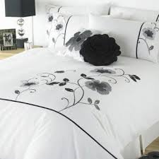 23 best Duvet Covers images on Pinterest | Bed linen, Bedrooms and ... & Buy super king size black and white embroidered poppy duvet cover online  today Adamdwight.com
