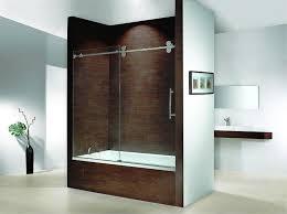 12 photos gallery of stylish bath tub glass doors